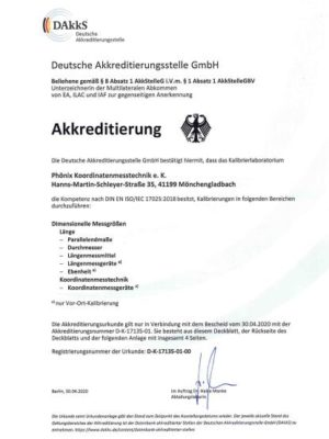 Phönix Akkreditierung