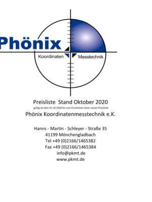 Phönix Preisliste
